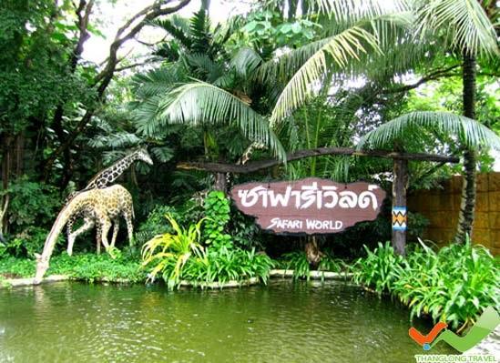 Hướng dẫn chi tiết lịch trình đi Safari World ở Bangkok, Thái Lan