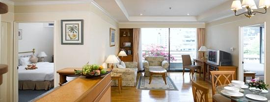 Khách sạn ở Bangkok giá cả hợp lý - Phòng đẹp tiện nghi